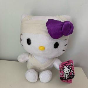 NWT Hello Kitty Halloween Mummy Plush